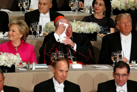 Cap Clinton-Trump tai ngo sau tranh luan vong 3 - Anh 10