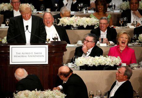Cap Clinton-Trump tai ngo sau tranh luan vong 3 - Anh 5