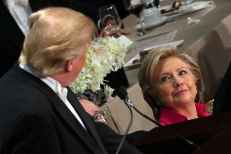 Cap Clinton-Trump tai ngo sau tranh luan vong 3 - Anh 6