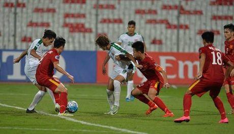U19 Viet Nam lan dau vao tu ket Giai bong da U19 Chau A - Anh 1