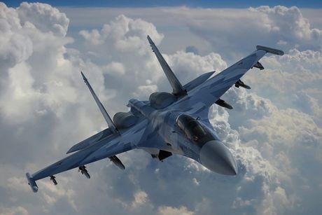 Sieu tiem kich Su-35: Vu khi thong tri bau troi cua Khong quan Nga - Anh 1