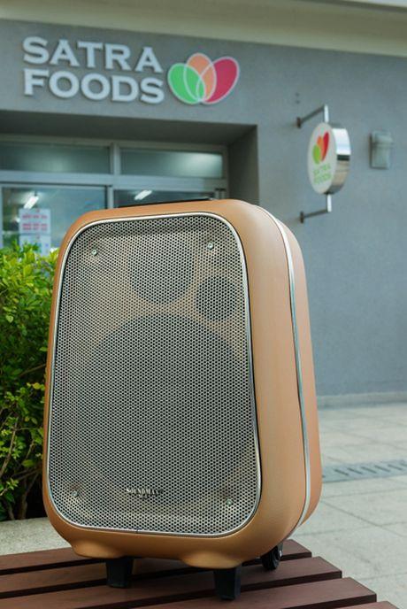 Can canh loa vali ho tro karaoke Soundmax M-6 - Anh 4