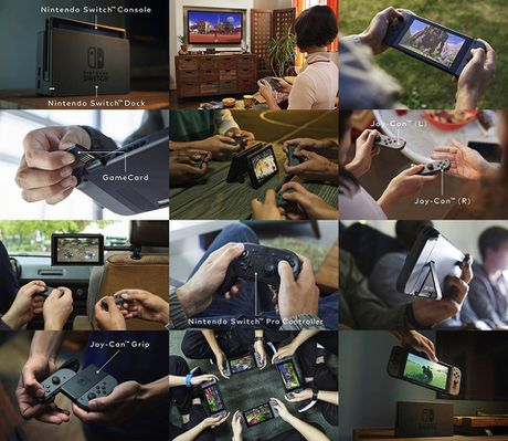 Nintendo ra may choi game Switch: thiet ke lai Tablet voi Console, thang 03/2017 ban - Anh 10