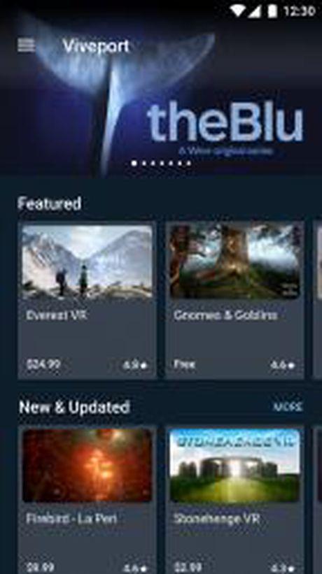 Viveport - nen tang VR duoc HTC phat trien tren Mobile - Anh 1