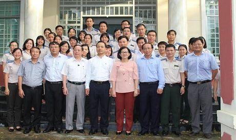 Thu truong Tran Tien Dung lam viec voi Chi cuc THADS quan Binh Thanh - Anh 1