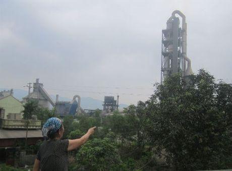 Chi Lang - Lang Son: Don com ra phai an voi vi so... bui xi mang - Anh 1