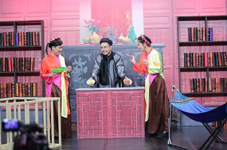 Truong Giang son phan yeu dieu, 'meo mat' an phai ot - Anh 1