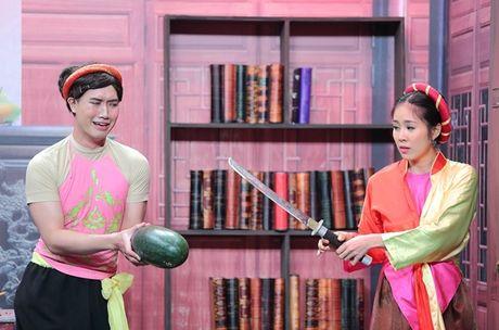 Truong Giang son phan yeu dieu, 'meo mat' an phai ot - Anh 4