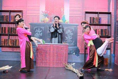 Truong Giang son phan yeu dieu, 'meo mat' an phai ot - Anh 6
