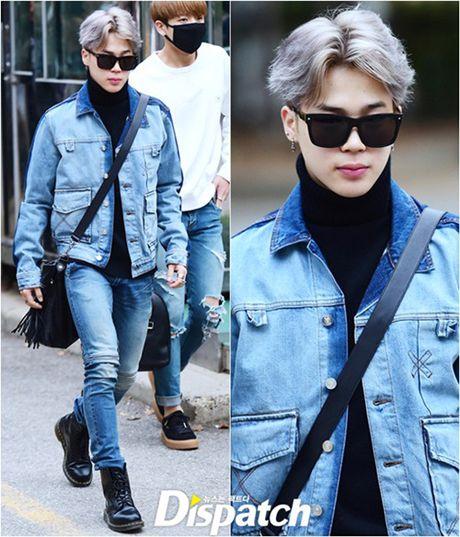 Na Eun, Ji Min mac dep nhat dan sao den Music Bank - Anh 10