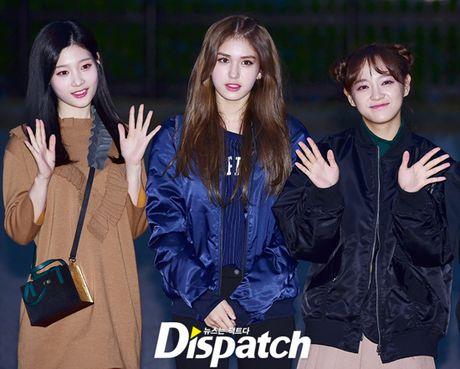 Na Eun, Ji Min mac dep nhat dan sao den Music Bank - Anh 4