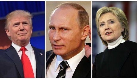 TT Putin lam 'nong' cuoc tranh luan cua ba Clinton va ong Trump - Anh 1