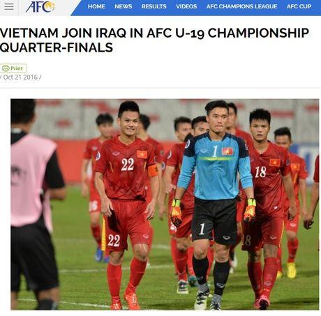 U19 Viet Nam duoc trang bao cua Lien doan bong da chau A tung ho - Anh 1