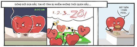 Bo tranh vui: Nhung cuoc chia tay can thiet cho trai tim - Anh 2