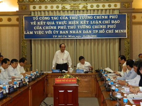 Thu tuong yeu cau TPHCM bao cao 8 van de nong - Anh 1