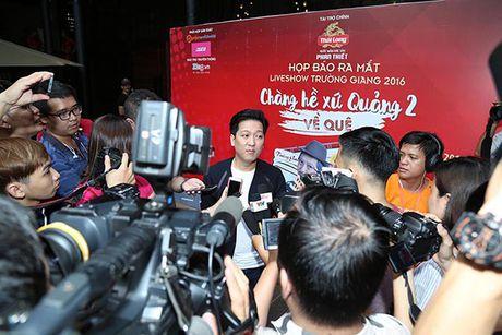 Truong Giang tri an khan gia mien Trung voi Liveshow 'Chang he xu Quang 2 – Ve que' - Anh 7