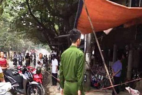 Truy bat doi tuong dam chet hai ban nhau cung ban - Anh 1