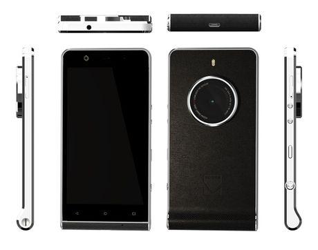 Kodak vua trinh lang smartphone Ektra trong nhu may anh co dien - Anh 1