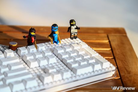 Danh gia ban phim iRocks K76M: khi phim co choi voi… Lego - Anh 3