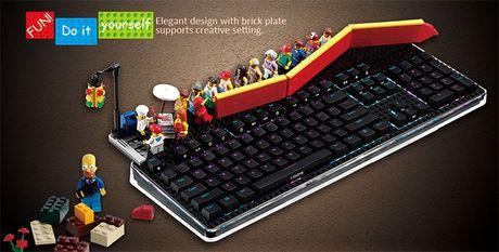 Danh gia ban phim iRocks K76M: khi phim co choi voi… Lego - Anh 4