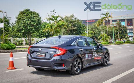 Trai nghiem ban dau the he Honda Civic moi sap ban tai Viet Nam - Anh 12