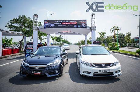 Trai nghiem ban dau the he Honda Civic moi sap ban tai Viet Nam - Anh 3