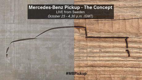Ban tai Mercedes-Benz 'Pickup' se ra mat toan cau ngay 25.10 - Anh 1