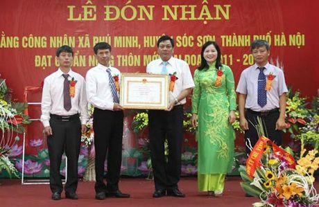 Soc Son co them 1 xa duoc nhan bang cong nhan dat chuan NTM - Anh 1