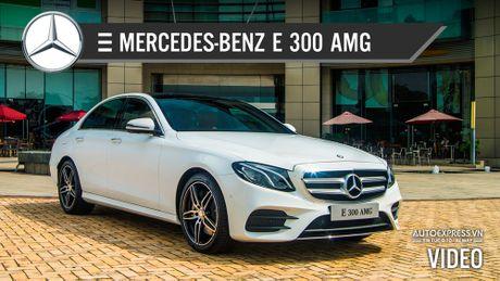 Trai nghiem nhanh Mercedes-Benz E 300 AMG the he moi gia 3,049 ty dong tai Viet Nam - Anh 1