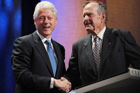 La thu Tong thong Bush cha viet sau khi bai tran truoc Bill Clinton - Anh 1
