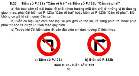 Nhung luat moi ve bien bao, vach ke duong tai xe Viet can biet - Anh 1