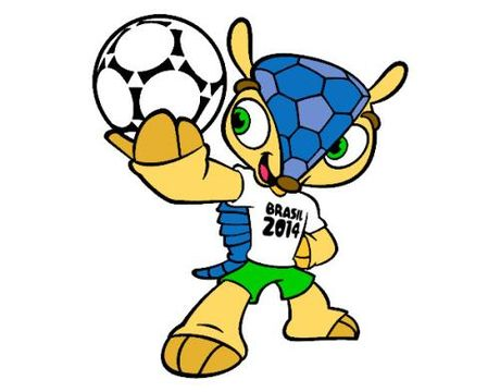 Nhung nhung linh vat ngo nghinh cua cac ky World Cup - Anh 4