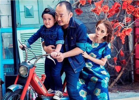Thu Trang - Tien Luat 'phat hoang' truoc su nhang nhit cua con trai Andy - Anh 6