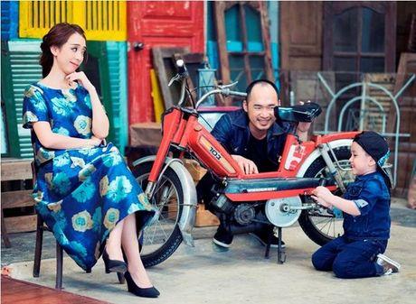 Thu Trang - Tien Luat 'phat hoang' truoc su nhang nhit cua con trai Andy - Anh 8