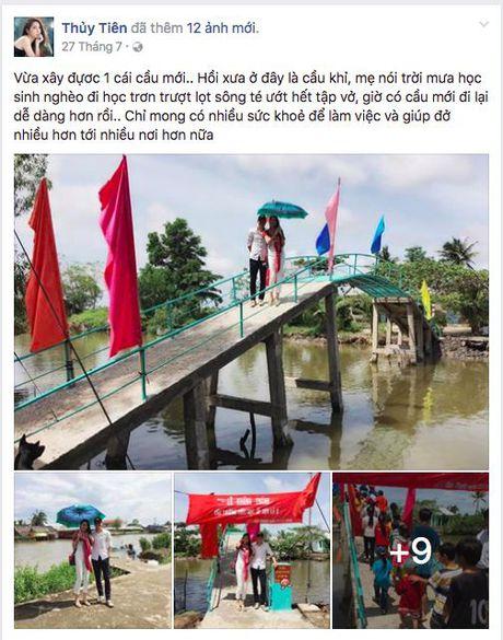 Khong dung ngoai cuoc, Thuy Tien da san sang den voi ba con mien Trung - Anh 6