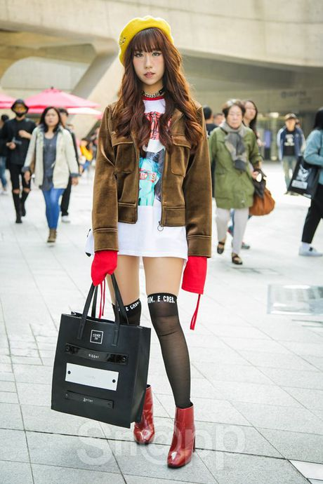 Mu noi chiem song loat street style tai Seoul Fashion Week - Anh 16