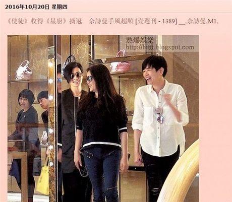 Bao Hong Kong dang anh Ly Nha Ky di mua sam voi Xa Thi Man - Anh 2