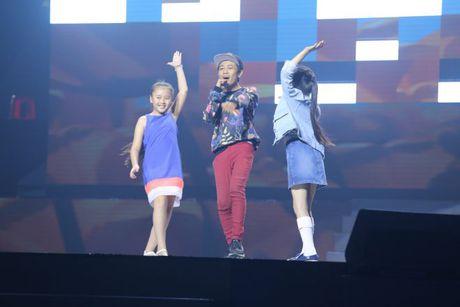 Hong Nhung cung Phuong Thanh, Huong Tram 'dai nao' The Voice Kids - Anh 5