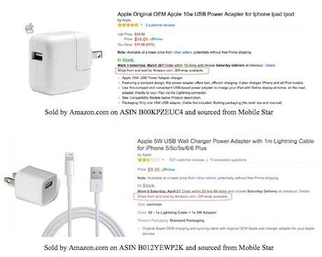 Hang gia Apple tran lan tren Amazon - Anh 1