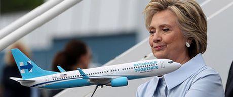 Do do khung may bay cua Trump va Hillary Clinton - Anh 3