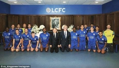 Leicester quy goi tuong niem nha vua Thai Lan - Anh 1