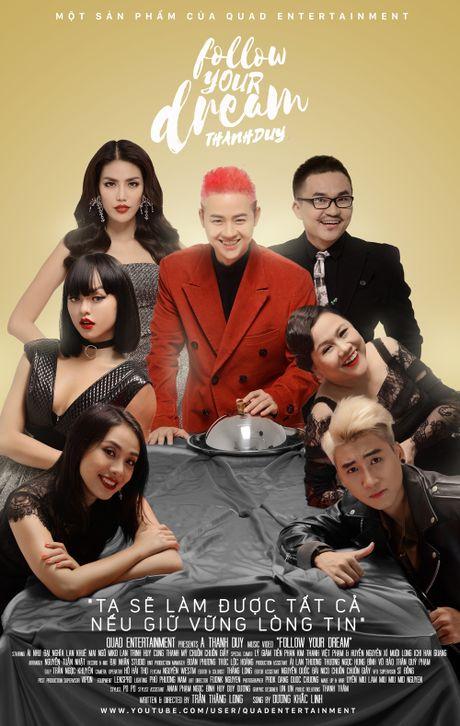 Thanh Duy ra mat MV co Lan Khue va Mai Ngo tham gia - Anh 1