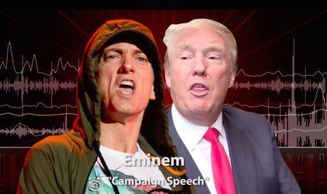 Eminem tung ca khuc moi da xoay Donald Trump - Anh 1