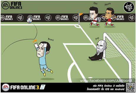 Pep khoc thet, da gay doi khung anh chup Messi - Anh 2