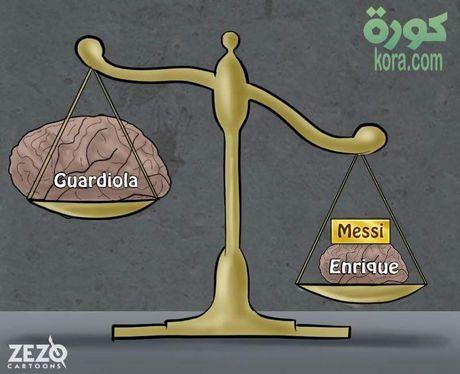 Pep khoc thet, da gay doi khung anh chup Messi - Anh 5