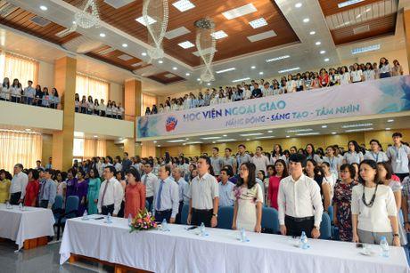 Pho thu tuong Pham Binh Minh du khai giang HV Ngoai giao - Anh 1