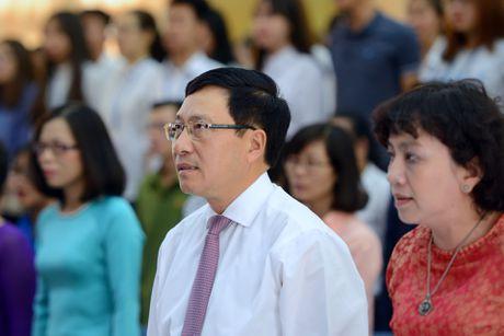Pho thu tuong Pham Binh Minh du khai giang HV Ngoai giao - Anh 2