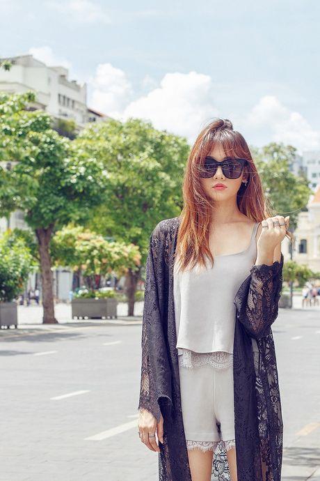 Hari Won khoe street style do ngu xuong pho - Anh 1