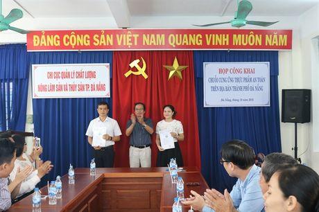 TP Da Nang cong khai chuoi cung ung thuc pham an toan duoc xac nhan - Anh 1