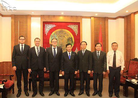Bo truong Nguyen Ngoc Thien tiep Dai su Belarus - Anh 3